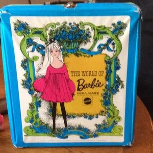 Barbie case by Mattel marked 1968